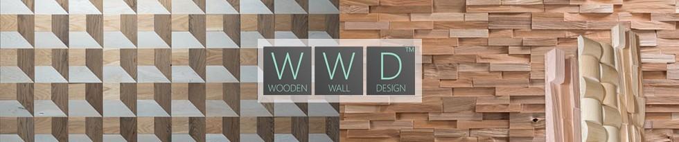 WOODEN WALL - Panneau Mural Bois Massif