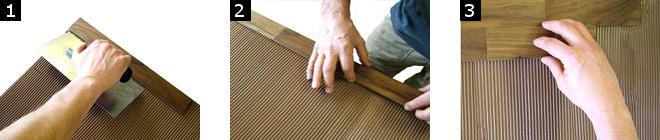 Installation parement bois woodwall