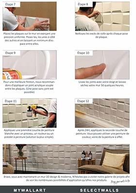 Guide installation panneaux 3d