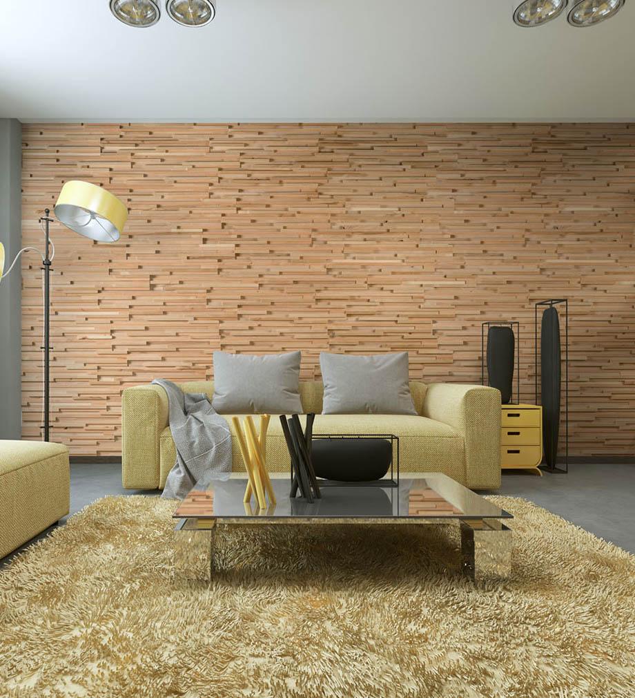 Mur En Parement Salon panneaux muraux bois fractus wooden wall