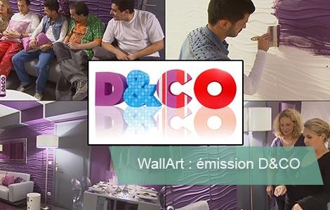 Panneau 3d Wallart D&co