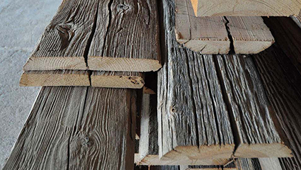 bois recyclé