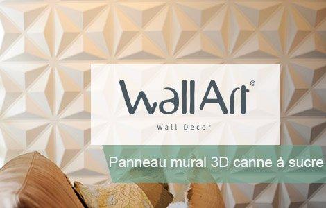 Panneau mural 3d Wallart