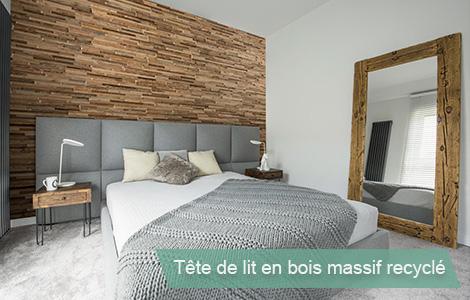Fabriquer une Tete de lit en bois