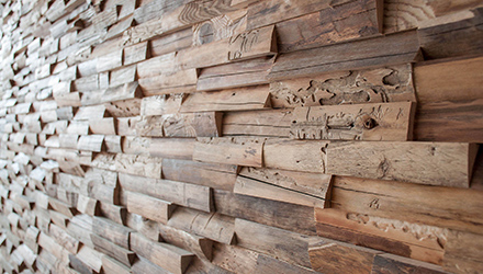 decoration murale bois allias