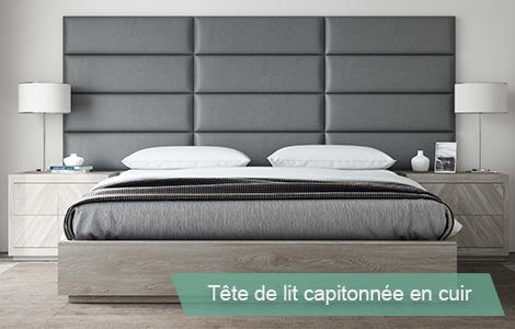 Tete de lit capitonnée vant